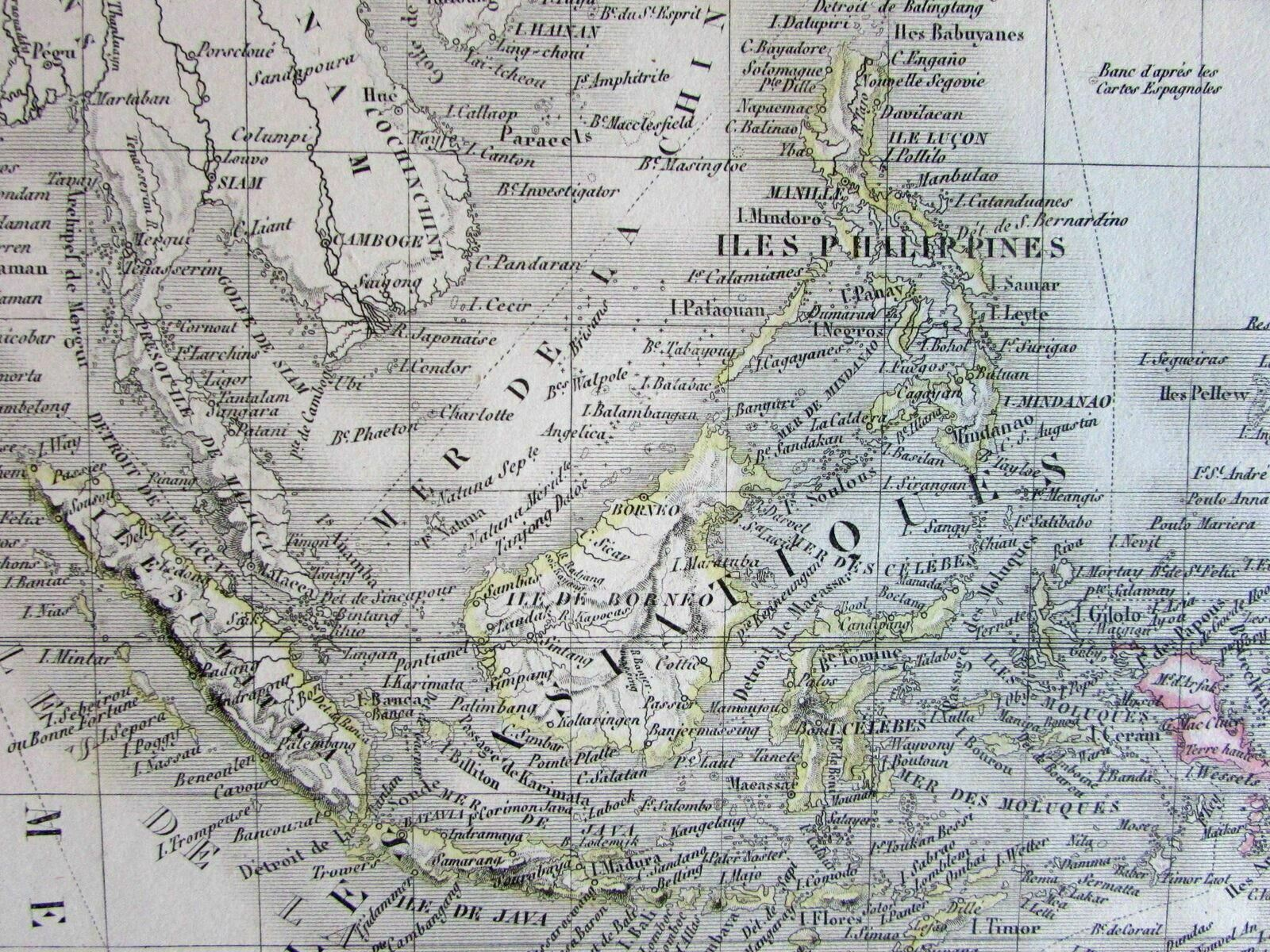 Map Of Australia 1830.Australia New Holland Notasie Oceania Scarce