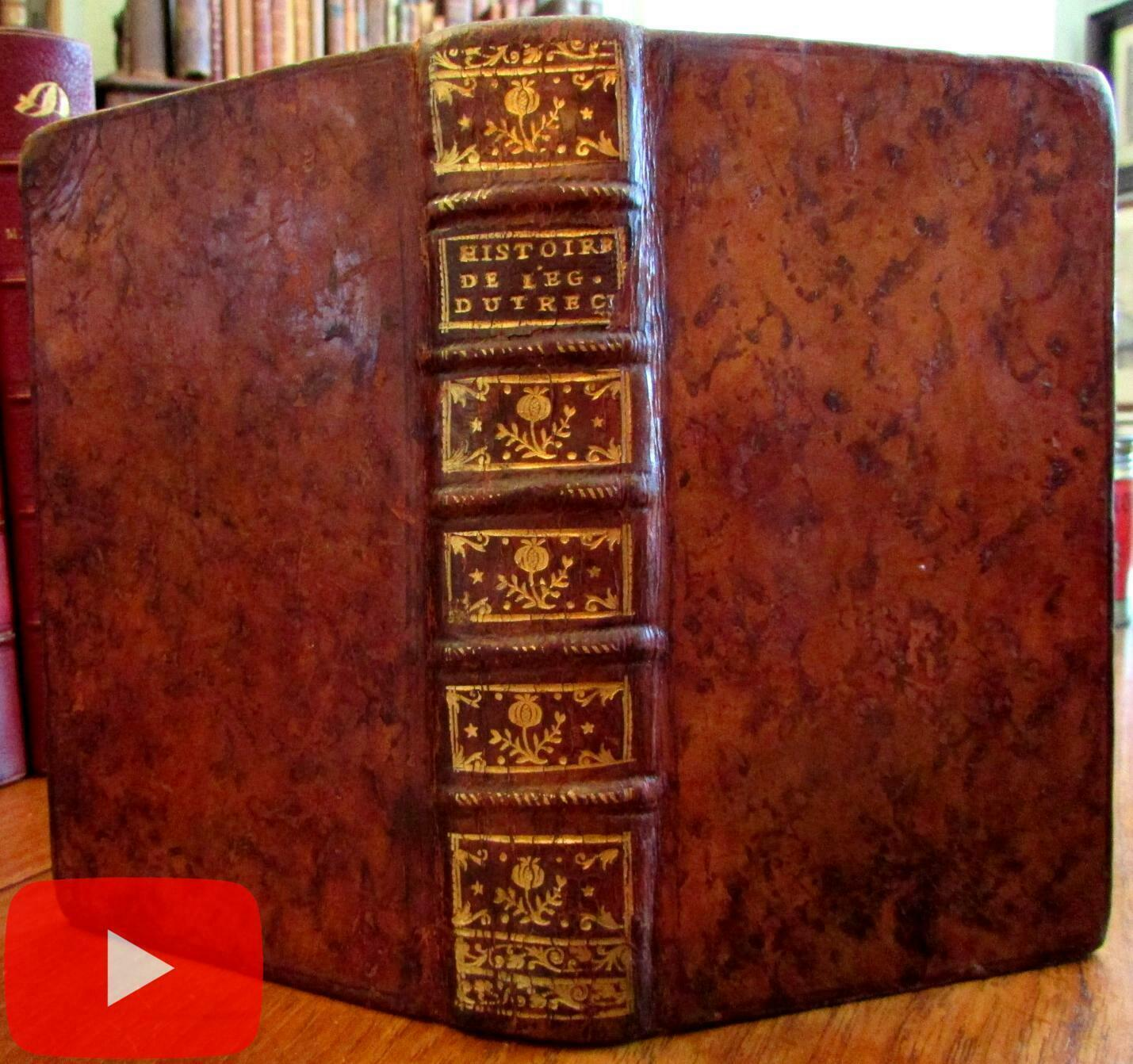 Holland 1765 Utrecht History Church Period Full Leather