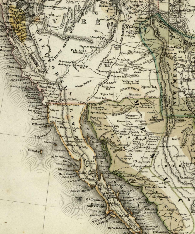 California Gold Region Texas territorial
