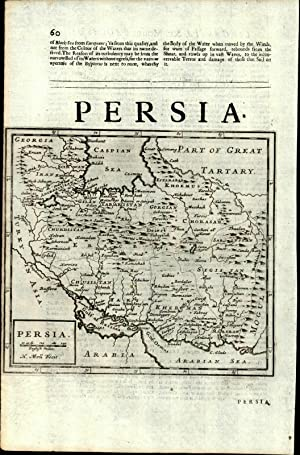 Persia Iran Caspian Gulf of Ormus Arabian ...