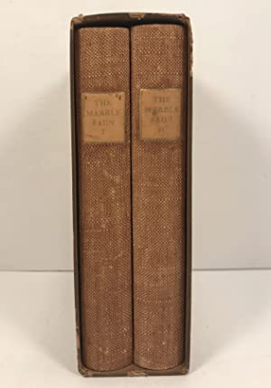 The Marble Faun or the Romance of Monte Beni Two Volumes Illustrations by Carl Strauss