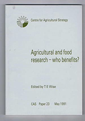 Agricultural and Food Research - who benefits?