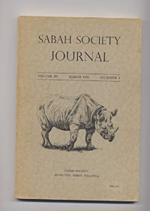 Sabah Society Journal.