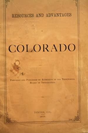 Resources and Advantages Of Colorado