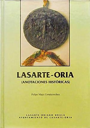 LASARTE-ORIA (Anotaciones historicas): MAYA URRUTICOECHEA, Felipe