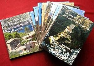 LA GRANDEZA DE NUESTROS PUEBLOS. Colección completa, 10 tomos. ( NUEVO )