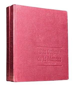 DON QUIJOTE DE LA MANCHA. (2 tomos, obra completa / Col. Auriga, 1ª Edicion 1963 / ...