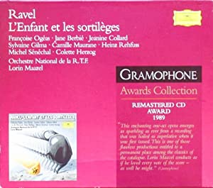 CD. MAURICE RAVEL (1875-1937). L'ENFANT ET LES: RAVEL / Orchestre