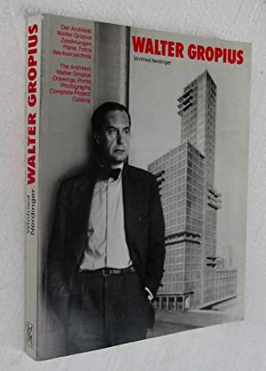 WALTER GROPIUS. (Text in German and English / Like new)