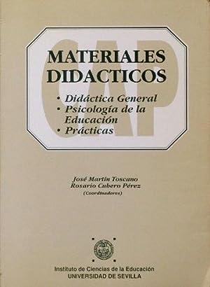 MATERIALES DIDACTICOS. Didactica general. Psicologia de la: MARTIN TOSCANO, Jose.