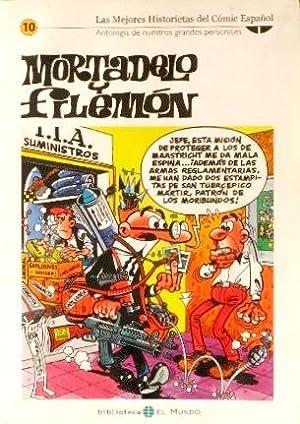 MORTADELO Y FILEMON. (Colección Las mejores Historietas del Comic Español, nº 10...