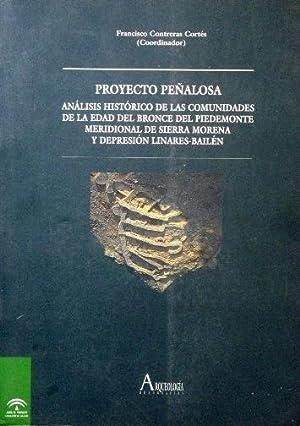 PROYECTO PEÑALOSA. Analisis historico de las comunidades de la Edad del Bronce del ...
