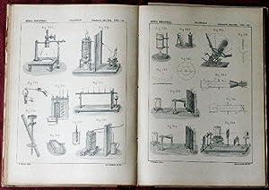 FISICA INDUSTRIAL O FISICA APLICADA A LA INDUSTRIA. La agricultura, artes y oficios (3 Tomos) 1895:...