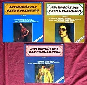 ANTOLOGIA DEL CANTE FLAMENCO. Fasciculos: Retablos del 1 al 8. Vinilos: Retablos del 1 al 6: ...
