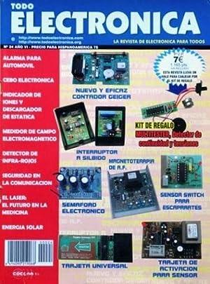 TODO ELECTRONICA, num 24, año VI. La revista de electronica para todos