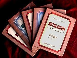 ROTULACION DECORATIVA ( 5 carpetas, obra completa): PEDRAZA, Miguel