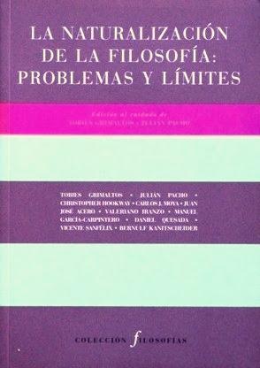 LA NATURALIZACION DE LA FILOSOFIA: PROBLEMAS Y: GRIMALTOS, Tobies -