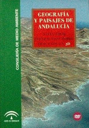 GEOGRAFIA Y PAISAJES DE ANDALUCIA. Navegador interactivo sobre imágenes en 3D (Libro + DVD)