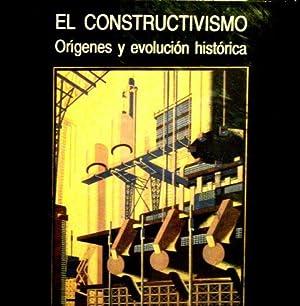 EL CONSTRUCTIVISMO. Origenes y evolucion historica: VELA, Jose Leon