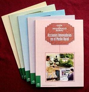 GUIA DE DESARROLLO RURAL (5 volumenes, obra completa). Vol 1: TRABAJO EN RED. Vol 2: MUJERES EN EL ...