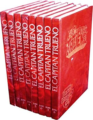 EL CAPITAN TRUENO. Edición historica, 1ª serie, 1987 (8 TOMOS, obra completa): MORA, ...