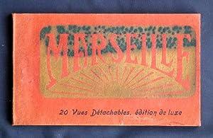 MARSEILLE. 20 vues detachables. Edition de luxe (cartes postales)