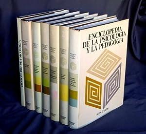 ENCICLOPEDIA DE LA PSICOLOGIA Y LA PEDAGOGIA ( 7 tomos, OBRA COMPLETA, incluido Diccionario de ...
