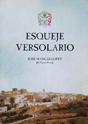 ESQUEJE VERSOLARIO (Firmado por el autor): MANGAS LOPEZ, Jose (el taxista poeta)