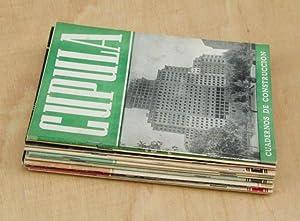 CUPULA. Cuadernos de construccion. (11 numeros: 9, 13, 14, 16, 18, 19, 23, 31, 35, 38 ,43 / Ed...