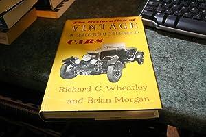 Restoration of Vintage and Throughbred Cars: Brian Morgan; Richard