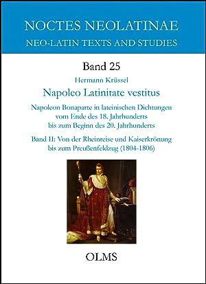 Napoleo Latinitate vestitus, Napoleon Bonaparte in lateinischen: Krüssel, Hermann
