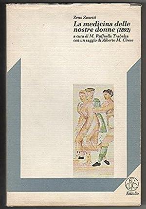 La medicina delle nostre donne (1892): a cura di