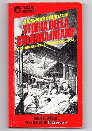 Storia della colonna infame: Alessandro Manzoni (intr. Leonardo Sciascia)
