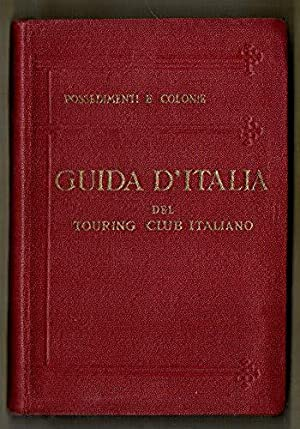 Possedimenti e Colonie. Isole Egee, Tripolitania, Cirenaica,: AA.VV.