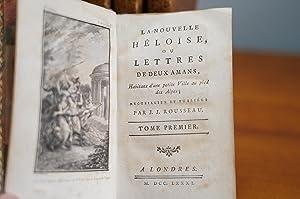 La nouvelle Héloise, ou lettres de duex: Jean-Jacques Rousseau (*