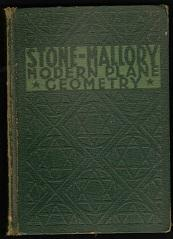 Modern Plane Geometry: John C Stone