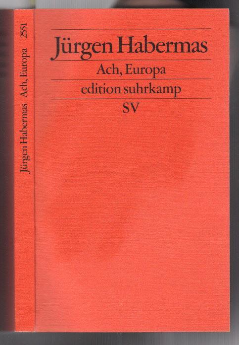 ach europa kleine politische schriften xi edition suhrkamp