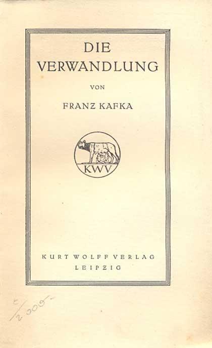 Die Verwandlung [= Der jüngste Tag, Band: Kafka, Franz