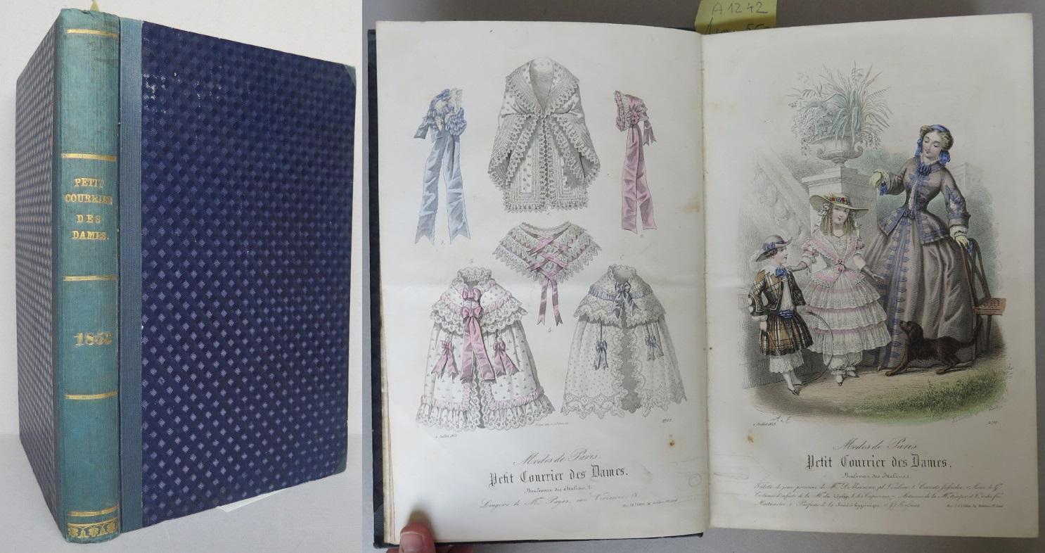 Petit Courrier des Dames. Tome LXII, 1853