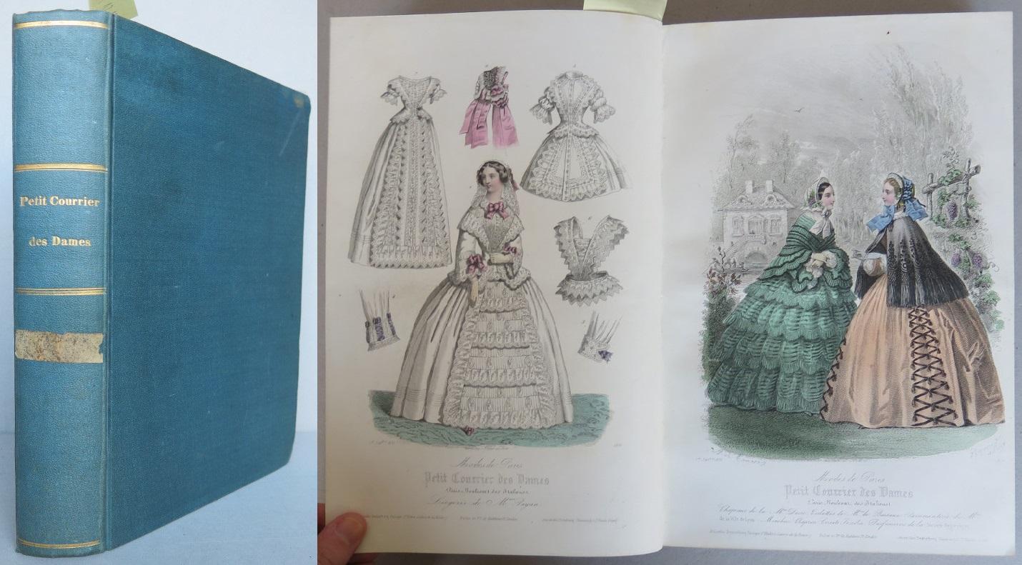 Petit Courrier des Dames. Modes de Paris,