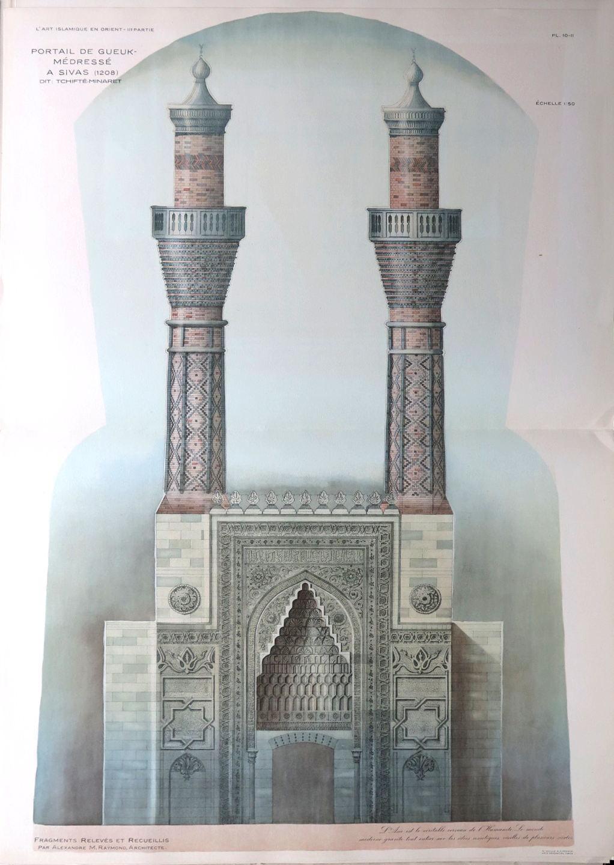 L 39 art islamique en orient deuxi me partie fragments d for Architecture et art