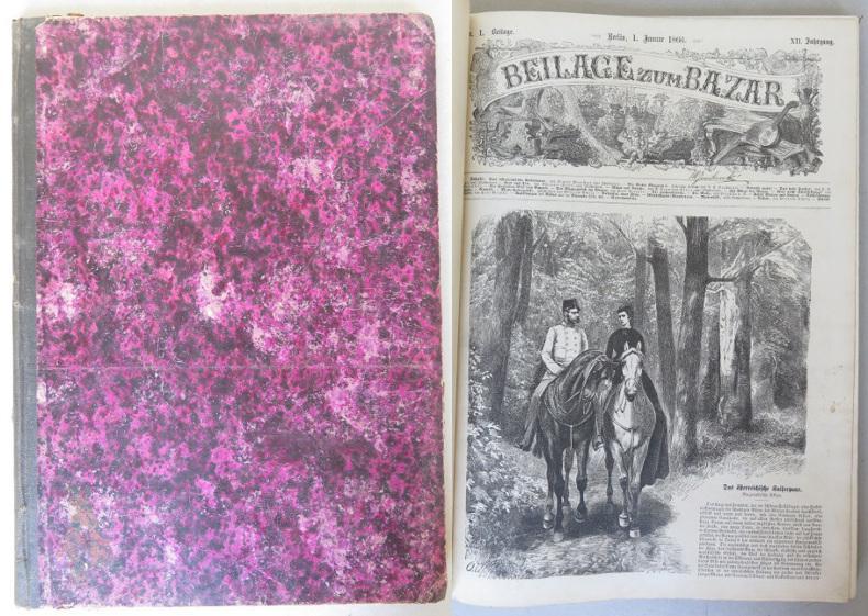 Beilage zum Bazar, XII. Jahrgang, 1866, Nrn.: Rodenberg, Julius (ed.)