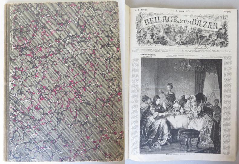 Beilage zum Bazar, XVII. Jahrgang, 1871, Nrn.: Heigel, Karl August