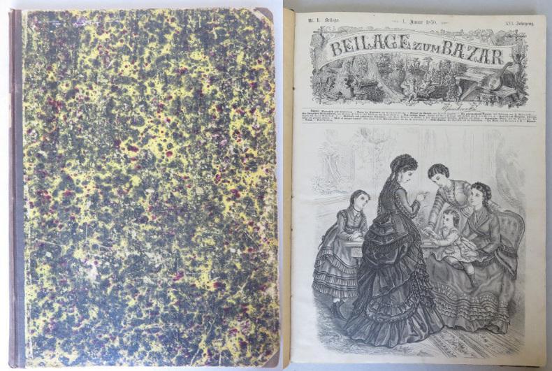 Beilage zum Bazar, XVI. Jahrgang, 1870, Nrn.: Heigel, Karl August