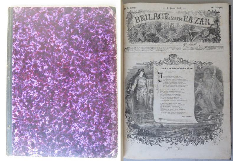 Beilage zum Bazar, XIII. Jahrgang, 1867, Nrn.: Rodenberg, Julius (ed.)