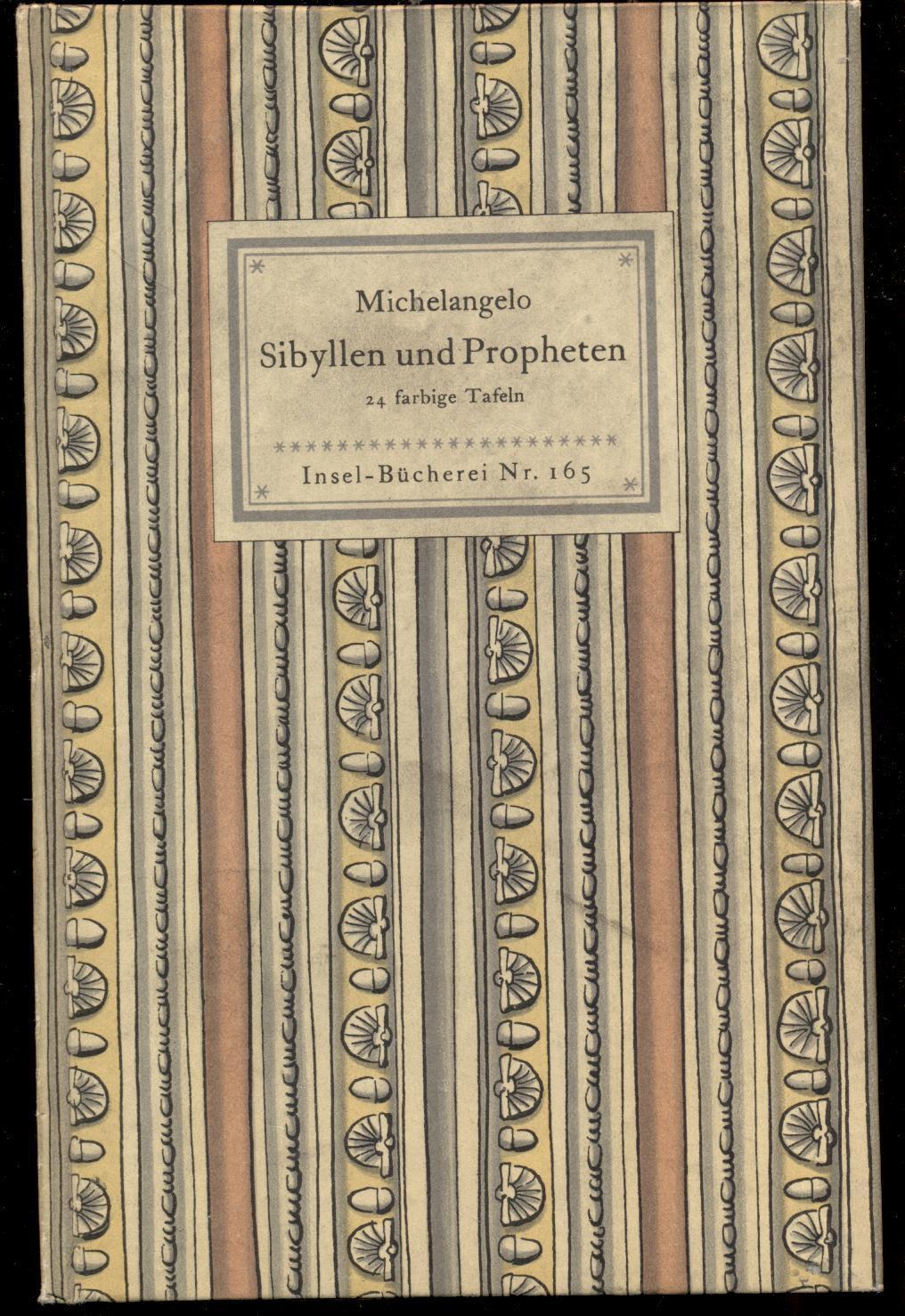 michelangelo sibyllen und propheten 24 farbige bilder nach fresken in der sixtinischen kapelle