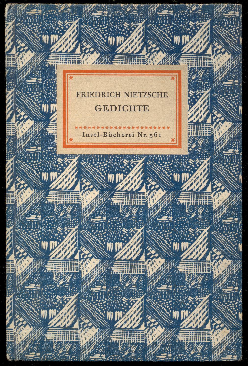 Gedichte Insel Bücherei Nr 361