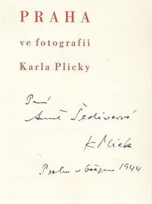 Praha ve fotografii Karla Plicky. S uvodnim: Plicka, Karel