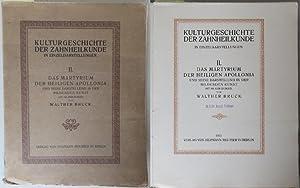 Kulturgeschichte der Zahnheilkunde in Einzeldarstellungen II. Das: Bruck, Walther