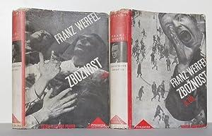 Zboznost. In zwei Teilen. 12. u. 13. Band der Bücherreihe Pyramida: Werfel, Franz